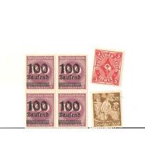 11 - Alemanha 6 Selos Sem Carimbo - Escasso Saufend