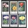 Ms1602- Alemanha Ddr.- Selos De Série M.c.- Flores De Cactus