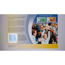 Av 1169 - Alemanha - Encarte Com Selo Do Bloco Copa 2006