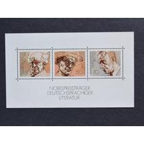 Alemanha 1978 Nobel Literatura Alemães Bloco Novo