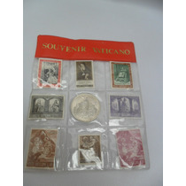 Selos E Moeda Souvenir Do Vaticano