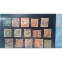 Cartela Com Selos Antigos Diversos Confira R$ 40,00+frete