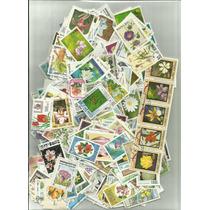 L626-flora/flores-coleção Com 500 Selos Diferentes