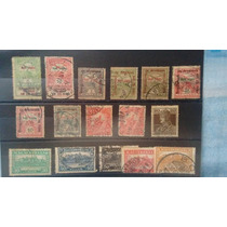 Cartela Com Selos Antigos Diversos Confira R$ 18,00+frete