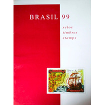 Ca-3004 - Colecao Anual De Selos Do Brasil - 1999
