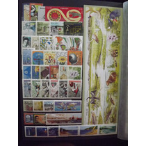Ano Completo De 2001 Com 55 Selos Todos Perfeitos (mint)