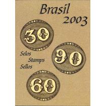 Linda Coleção Anual De Selos - Ano 2003
