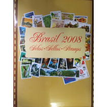 2008 - Coleção Anual Selos Correios Brasil - Original