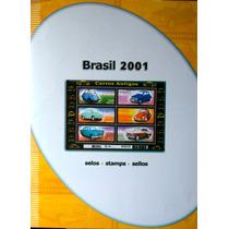 Ca-3005 - Colecao Anual De Selos Do Brasil - 2001