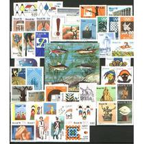1976 - Ano Completo Comemorativos - 49 Selos Novos Com Goma