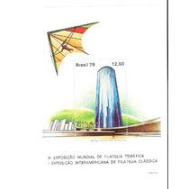 Lindo Bloco B-42 Brasiliana 79 - Vejam A Foto !!!