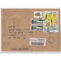 Brasil - Envelope Circulado Porte Bloco Brasil 500 Anos 1999