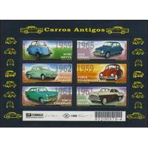 Brasil Bloco 120 Automóveis Antigos Carros Nnn