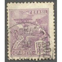 Selo Do Brasil-150 R Com Carimbo Do Rio Pardo