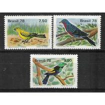 C_1036/8 - Brasil-1978 - Fauna: Pássaros Brasileiros.
