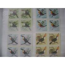 Serie Em Quadras - 1983 - Fauna - Tucanos -c-1321/24