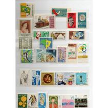 Selos Comemorativos Mint Brasil Anos Diversos 1968/69/70/71