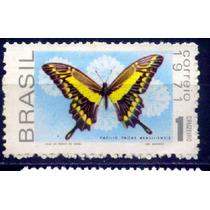 C-696 - Selo Novo Da Fauna Brasileira - Borboletas 1971