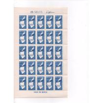 1965 - C-540 Folha Selos Semana Da Asa Com Goma