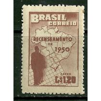 1950 - 6° Recenseamento Geral Do Brasil - Mint - Rhm A77