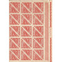 Raro E Lindo! Folha De Selo Completa - Ano 1947