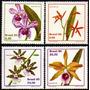 Brasil C 1162/65 Orquídeas Flora Lc Nnn