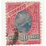 Selo Antigo - Brasil - Correio - 1908 - 10 Réis - Ab