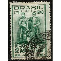 Xc- 156u Brasil Bicentenário Da Col. De Porto Alegre