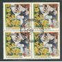 C-1942 1995 Quadra Cbc-df 100 Anos De Amizade Brasil - Japão