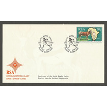 Envelope Africa Selo Ano 1990, Natal Rugby Union Greyville