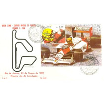 Formula 1 1989 Esportes Ayrton Senna Corrida Carros Fdc K.f