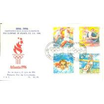 Olimpíadas 1996 Jogos Olímpicos Volei Natação Fdc K.filet