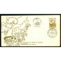Fdc 140 - Cbc+1ºdia - Dia Nacional De Ação De Graças - 1977