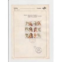 Edital - 1980 - Rhm C-1177 Ao C-1182 - Homen. Ao Aleijadinho
