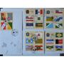 5 Fdc Bandeiras Estados Brasileiros 1981-85