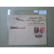 Brasil - Varig 1° Voo Porto Alegre A Palmeira Em 17/out/1933