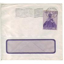 17117 Vaticano Envelope Com Janela Circulado P/ Brasil 1969