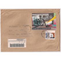 Brasil - Envelope Circulado Porte Bloco Cinema Mundial 1995
