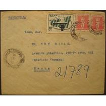 8683 Brasil História Postal Envelope Circulado No Rj Em 1955