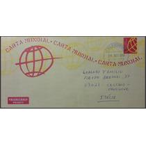 Brasil 2013 - Inteiro Postal Circulado Da Carta Mundial