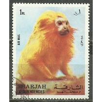 189 Sls- Sharjah- Arabe- Lote Com 1- Selo Postal- Antigo