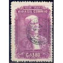Selo Brasil,aéreo Cent.joaquim Nabuco 1949,usado.ver Descr.