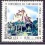 Selo Brasil,4°cent.santuário N Sra Penha 1970,mint.ver Descr