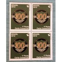 Q-5123 - 2012 - 100 Anos Amercia Mg - Quadra