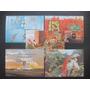 Todos Os Blocos De 1988 - 5 Blocos Mint R$ 70,00 De Catalogo