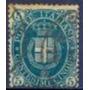 Selo Itália,armas Casa De Savóia,5c 1889,usado.ver Descrição