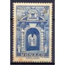 Selo Mônaco,porta Do Palácio,20f 1939/41,novo.ver Descrição.