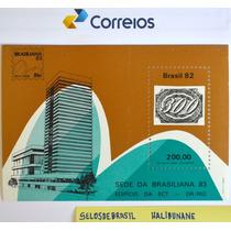B-6749 - 1982 - Bloco Sede Da Brasiliana 83