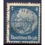 Selo Mal. Hindenburg,4p Alemanha 33/36 Usado.