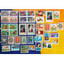 V-8282 - 39 Selos Correios Postal Filatelia Upu Agencia